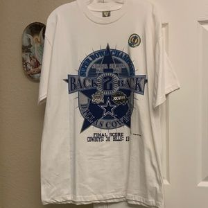 Dallas Cowboys 1993 & 1994 Super Bowl Champs Tee